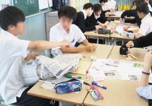 新聞を活用するNIEの導入